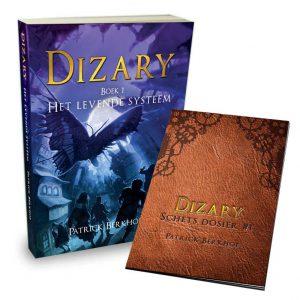 Dizary, boek 1, het levende systeem, Patrick Berkhof, gratis schets dossier