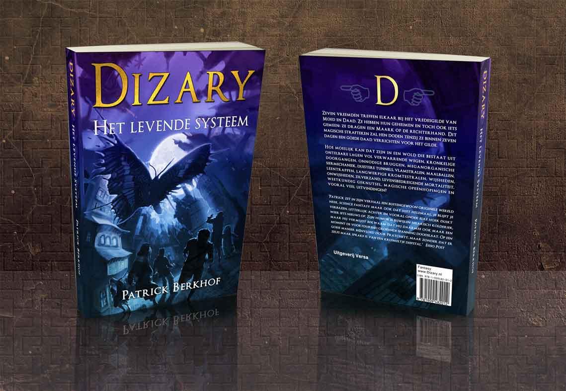 Verrassend Dizary - Het Levende Systeem, gesigneerd - Dizary KH-78