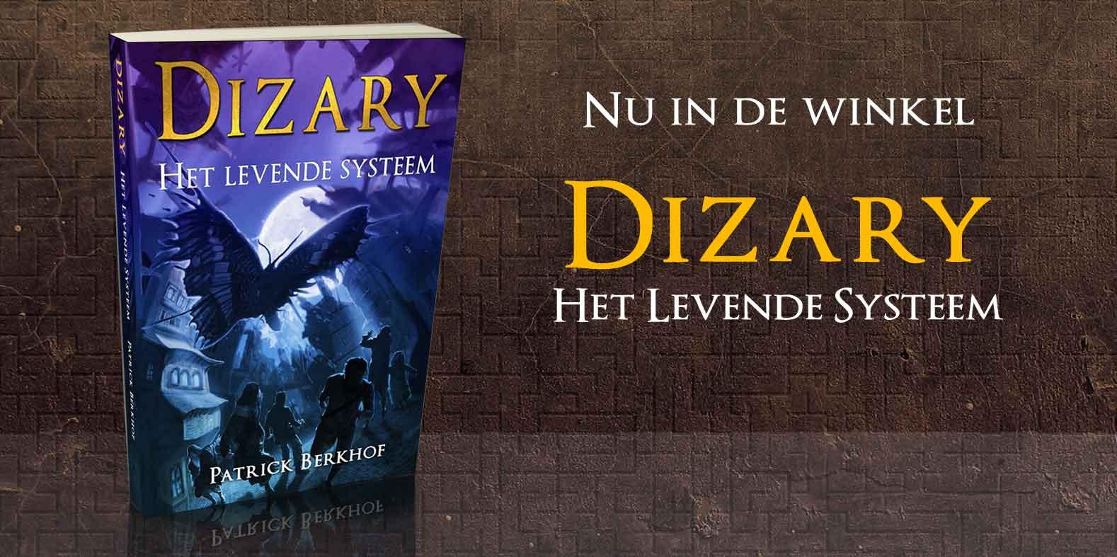 Dizary vanaf nu verkrijgbaar in de boekenwinkel
