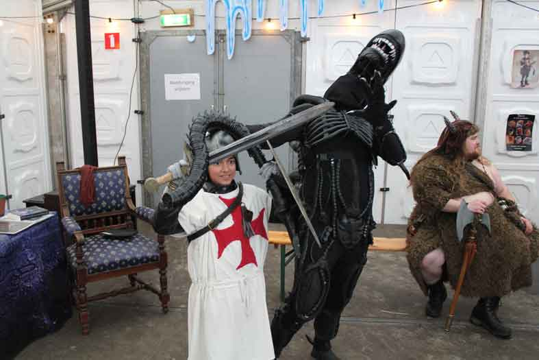 midwinter fair archeon 2016 alien kostuum cosplay