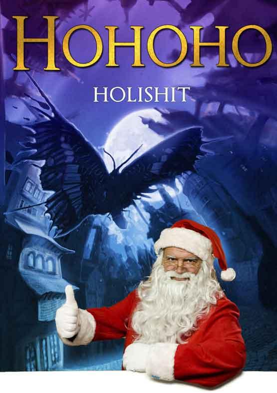Ho, ho, ho eens even! Eerst Sinterklaas en nou die Kerstman weer!