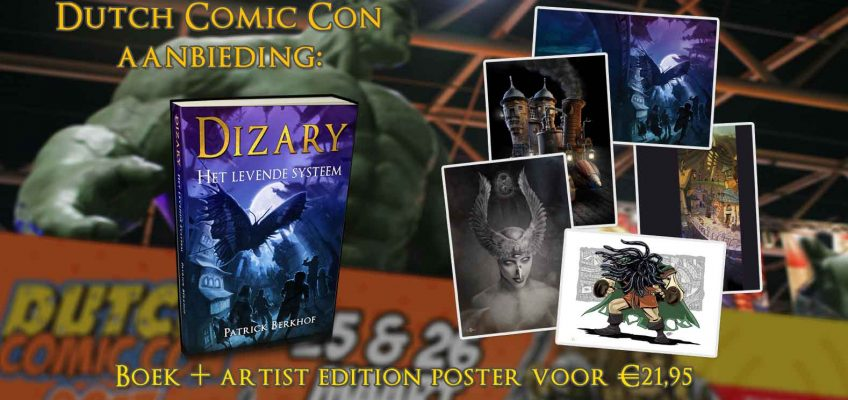 Dutch Comic Con beurs aanbieding korting Dizary Ammar Al-chalabi Patrick Berkhof het levende systeem