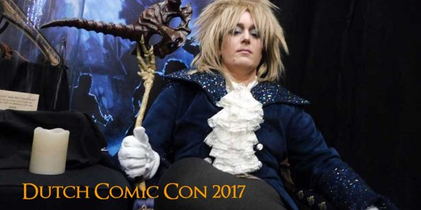 Jarreth sarah labyrinth Dutch comic con 2017 utrecht jaarbeurs dizary