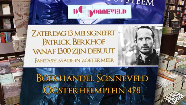 patrick berkhof signeert bij boekhandel sonneveld oosterheem zoetermeer