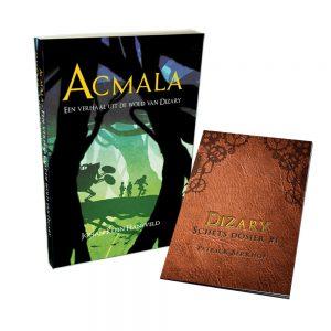 Acmala, een verhaal uit de wold van Dizary, Johan Klein Haneveld, gratis schets dossier