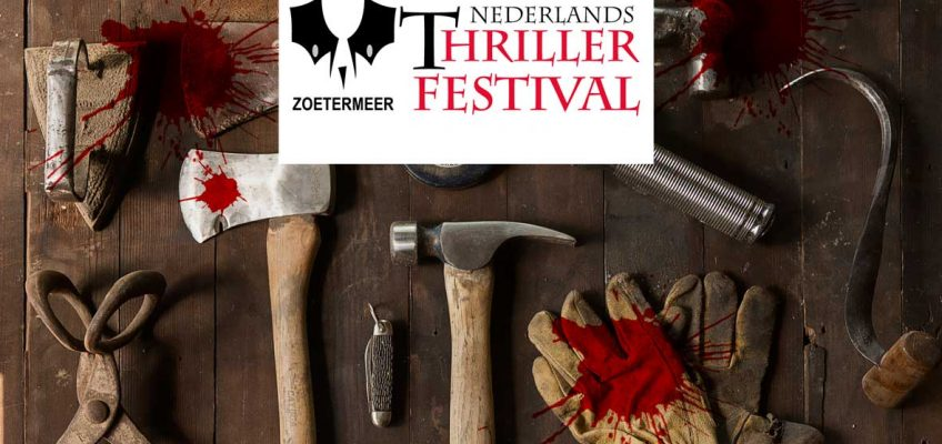 Dizary op thrillerfestival Zoetermeer Patrick Berkhof