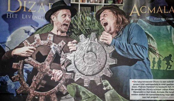 Dizary Acmala in het Algemeen Dagblad, Patrick Berkhof, Patrick Kerkhof, Johan Klein Haneveld