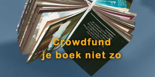 dizary crowdfund je boek niet zo crowdfunding