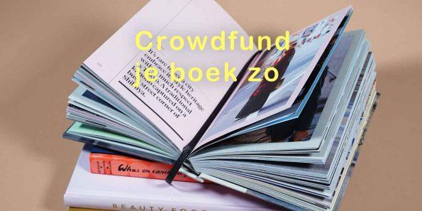 hoe moet ik mijn boek crowdfunden
