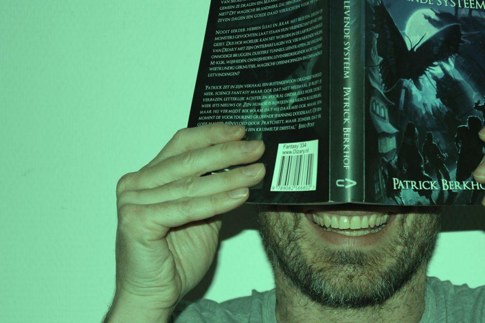 Patrick Berkhof Kerkhof auteur van Dizary het levende systeem. Seplfpubber