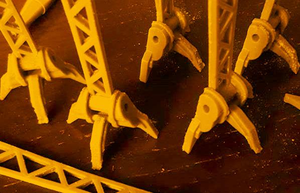 3D print Acmala Bosschip in de maak