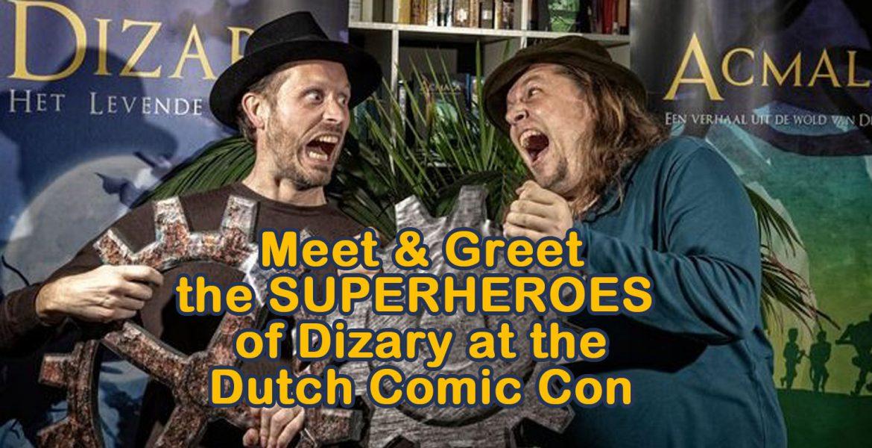 meet and greet the heroes of Dizary Patrick Berkhof Kerkhof Johan Klein Haneveld