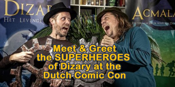 meet and greet the heroes of Dizary Patrick Berkhof Kerkhof Johan Klein Haneveld