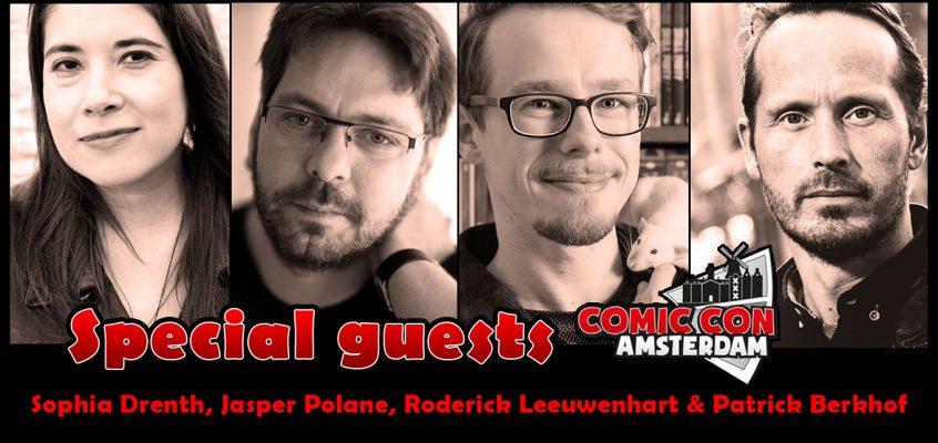 Special Guests tijdens de Comic Con Amsterdam
