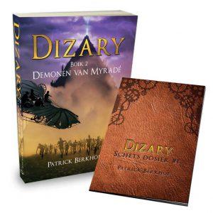 Dizary boek 2, Demonen van Myradé, Patrick Berkhof, gratis schets dossier