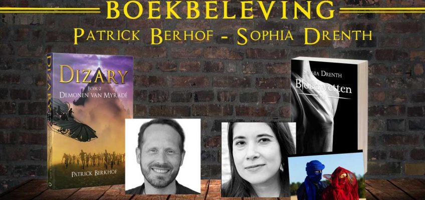 boekbeleving dizary, patrick berkhof, sophia drenth
