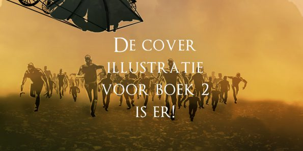 de cover illustratie voor Dizary boek 2 is er