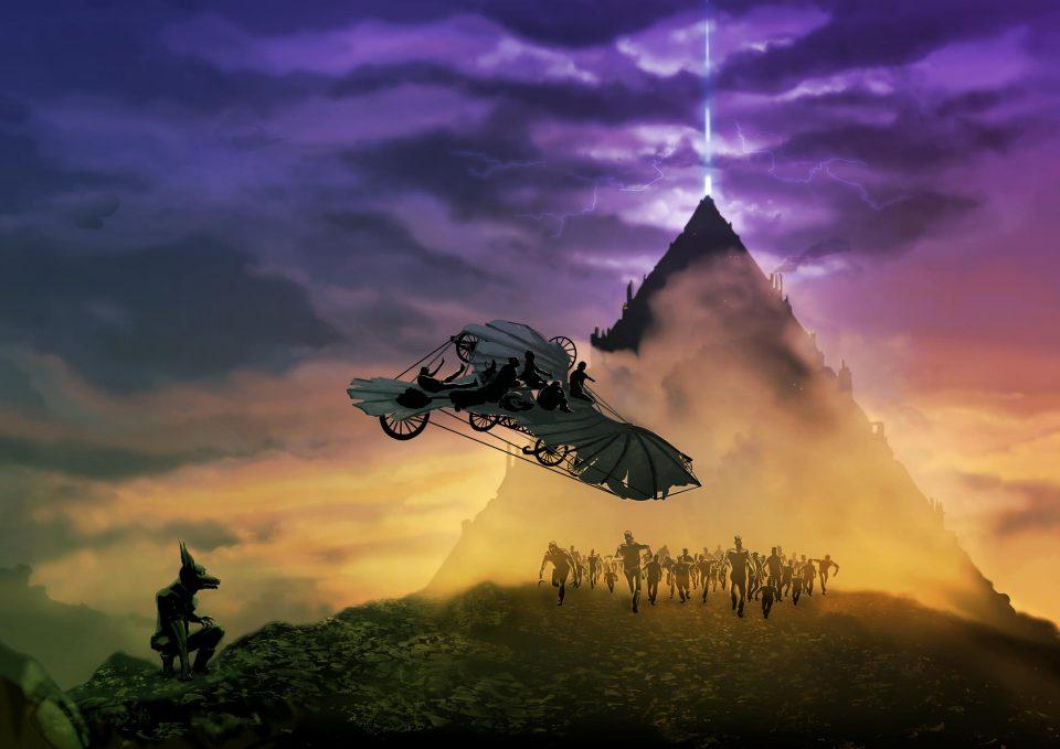 cover illustratie demonen van Myradé myrade, patrick berkhof