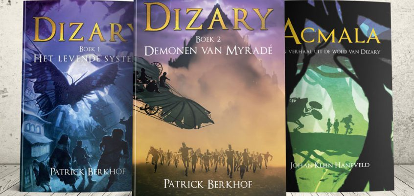 Project Dizary fantasy young adult boeken