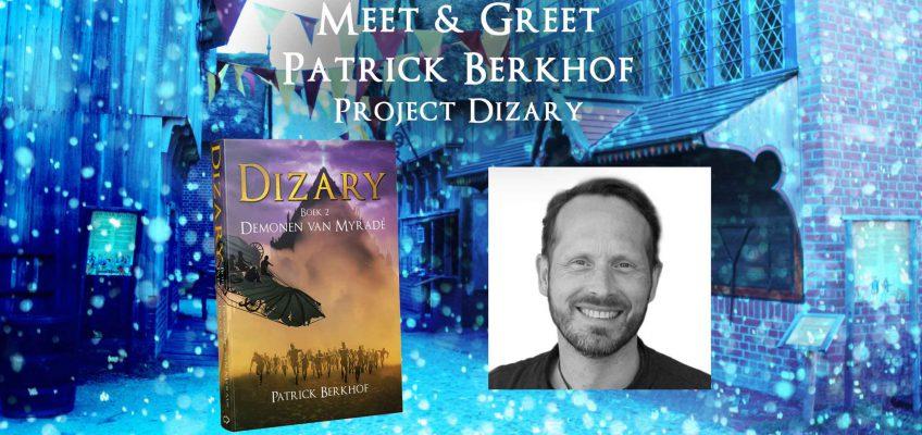 Patrick Berkhof is aanwezig tijdens de Midwinterfair Yule Fest in het Archeon