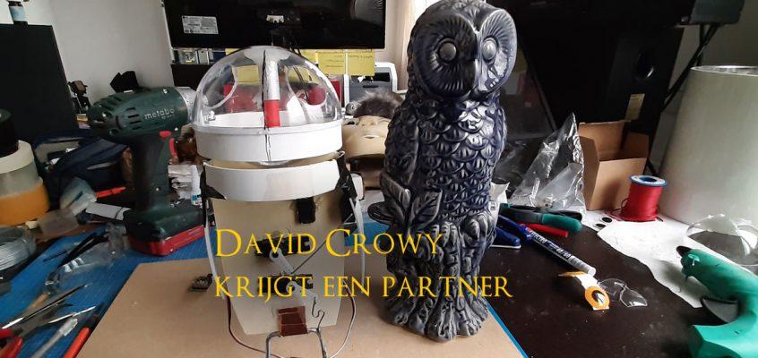 David Crowy krijgt vervolg
