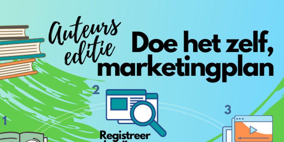 doe het zelf marketingplan, auteurs editie, boekmarketing