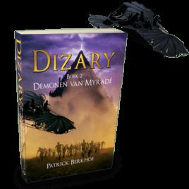 Dizary | Demonen van Myradé | Patrick Berkhof | Paperback