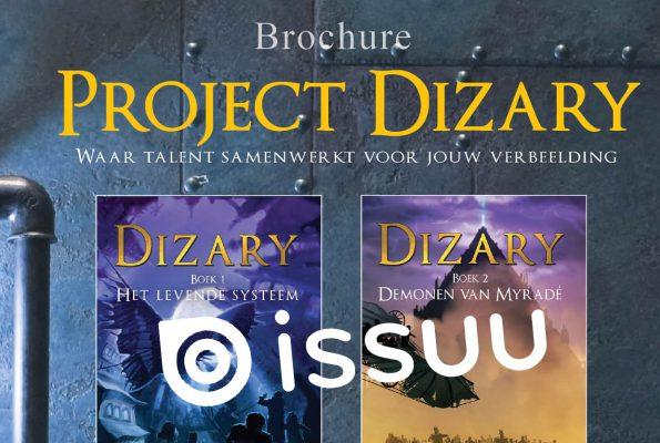 Project Dizary brochure, online digitaal, issuu