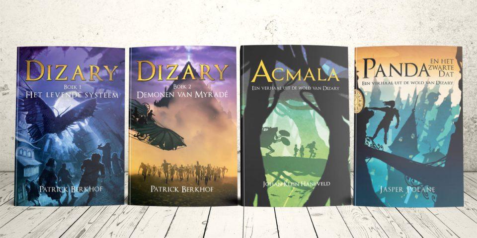 Project dizary alle fantasy boeken, Patrick Berkhof, Jasper Polane, Johan Klein Haneveld