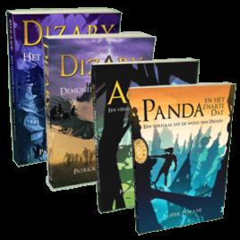 Voordeel leesbundel 4 boeken | Fantasy | Young Adults