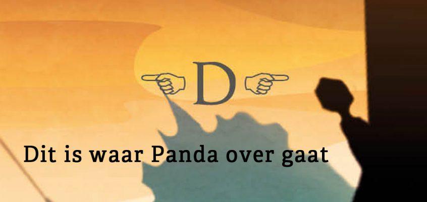 De achterkant van Panda