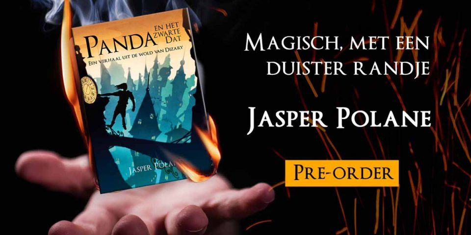Pre-order het nieuwe boek van Jasper Polane