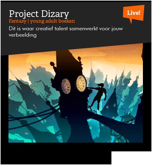 Project Dizary op Stay home comic con, Live met Patrick Berkhof en Jasper Polane