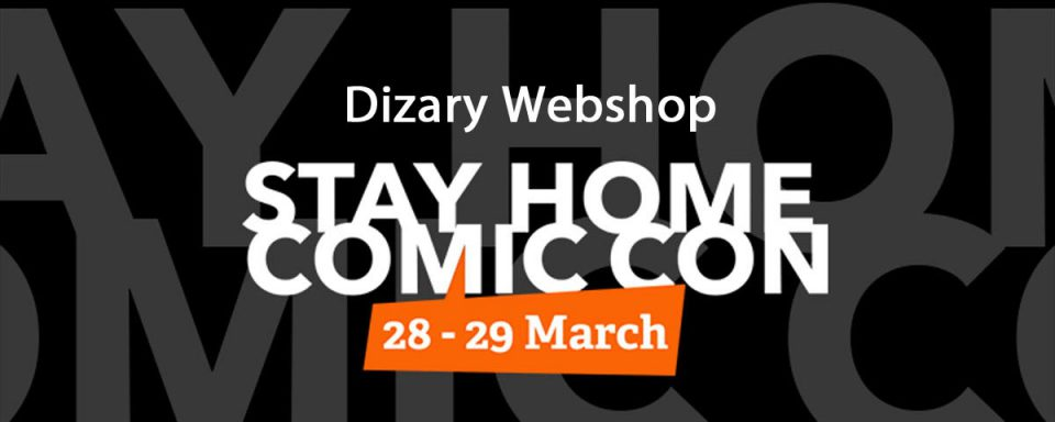 Stay home comic con webshop