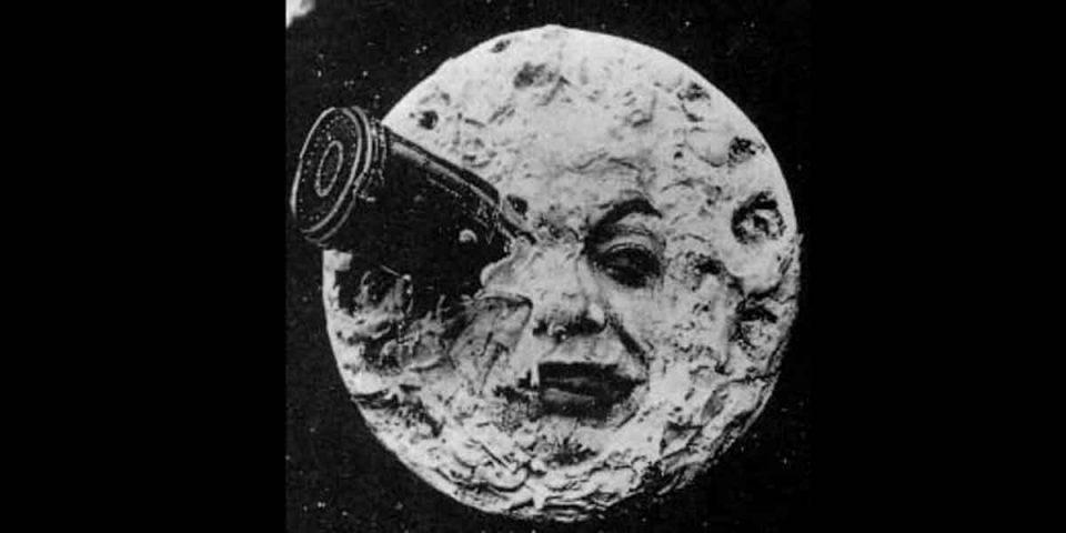 Le voyage dans la lune. Schrijfinspiratie Dizary