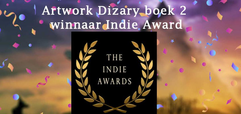 Project Dizary boek 2 Demonen van Myradé winnaar artwork the Indie Awards 2019