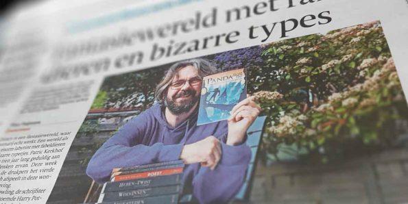 Jasper Polane, Panda en het zwarte Dat in het AD algemeen dagblad