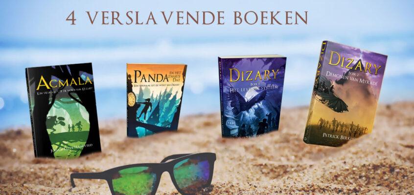 4 Verslavende boeken voor de zomervakantie