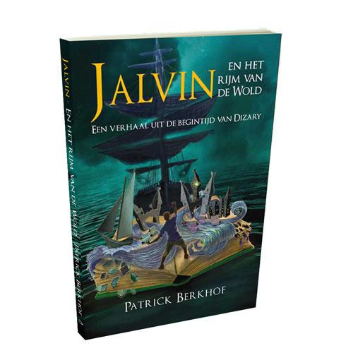 Pre order Jalvin Project Dizary, Jalvin het het rijm van de wold, Patrick Berkhof, Project Dizary