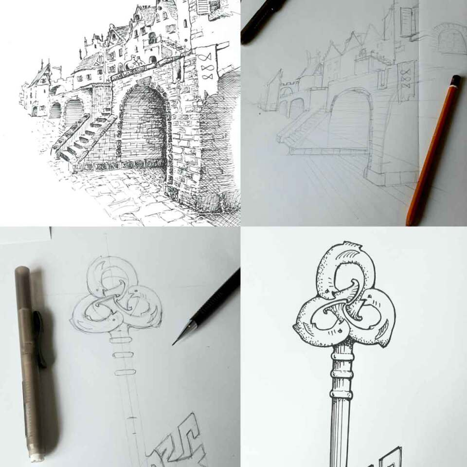 Pre order Jalvin Project Dizary, illustraties voor het boek, Jalvin het het rijm van de wold, Patrick Berkhof, Project Dizary