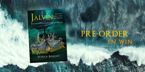 pre-order, Jalvin het het rijm van de wold, Patrick Berkhof, Project Dizary, en win