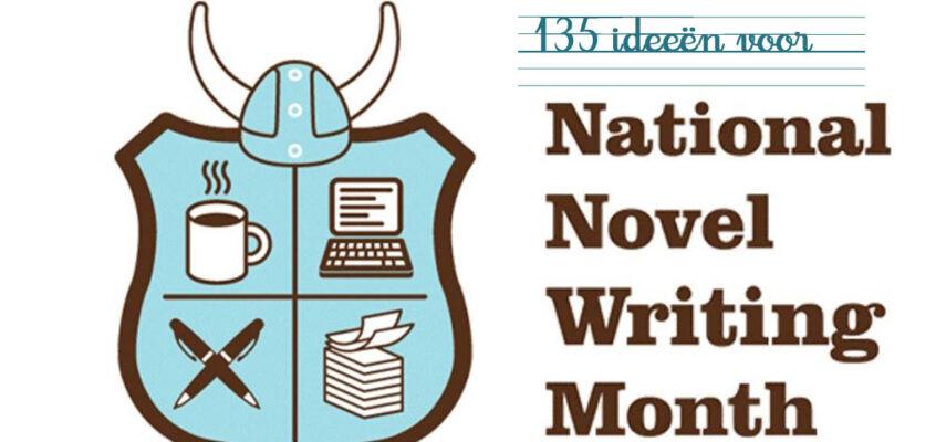 NaNoWriMo schrijf inspiratie