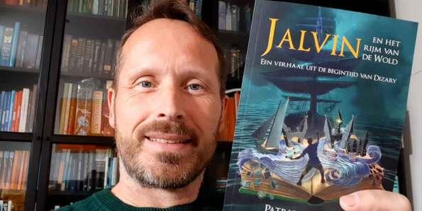 Patrick Berkhof en zijn nieuwe boek Jalvin het rijm van de Wold