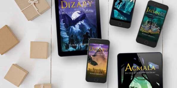 alle boeken van dizary digitaal verkrijgbaar