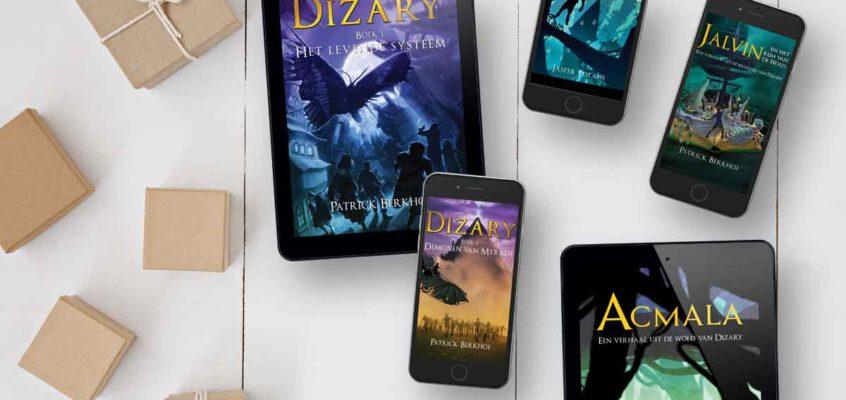 Alle boeken van Dizary nu ook digitaal