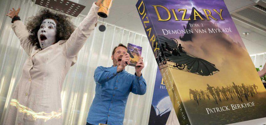 Dizary boek 2, Demonen van Myradé 2 jaar, patrick Berkhof