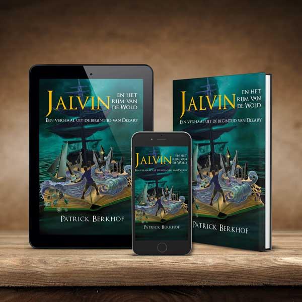 Boek, ebook, Jalvin en het rijm van de Wold, Patrick Berkhof