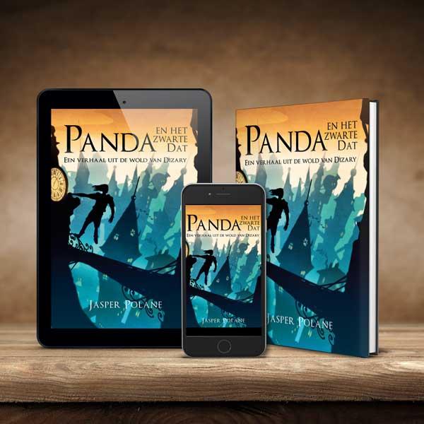 Boek, ebook, Panda en het zwarte Dat, Jasper Polane
