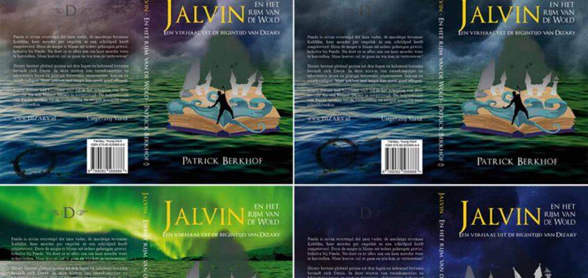 Jalvin – het ontstaan van de boekomslag