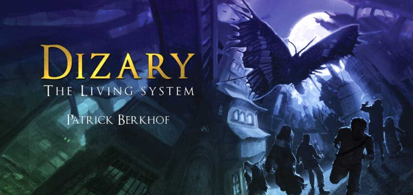 Dizary, the living system, new fantasy, Patrick Berkhof